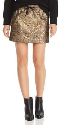 Aqua Metallic Mini Skirt - 100% Exclusive