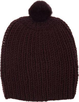 Hat Attack Fur Pom Beanie