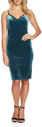 Cynthia Steffe Arianna Velvet Slip Dress