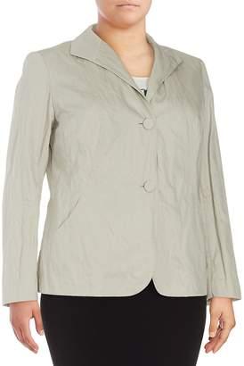Lafayette 148 New York Women's Laverna Solid Long-Sleeve Jacket