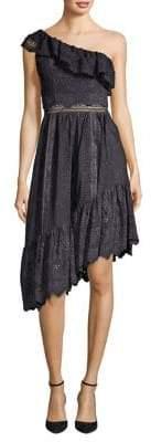 The Kooples Asymmetric Cotton Dress