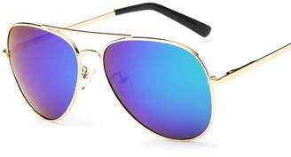 VeBrellen ® Fashion Star Men Polarized Sunglasses Mirrored Lens UV400 Protection Driving Sun Glasses (, 60)