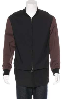 3.1 Phillip Lim Woven Layered Jacket