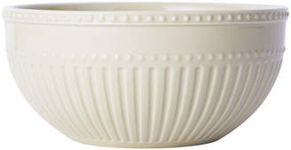 Mikasa Fluted Beige Cereal Bowl