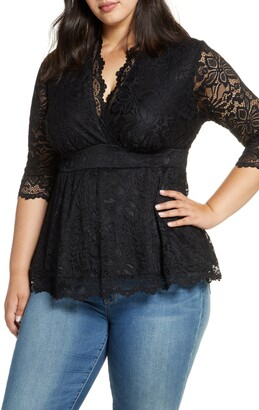 Kiyonna Linden Lace Top