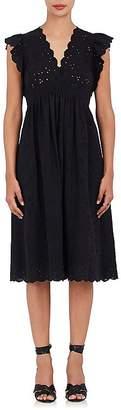 Ulla Johnson Women's Louise Cotton-Linen Eyelet Dress