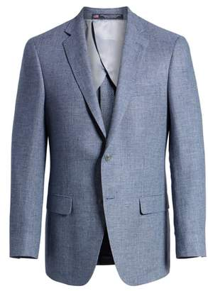 Hart Schaffner Marx Hart Shaffner Marx Classic Fit Solid Wool Sport Coat