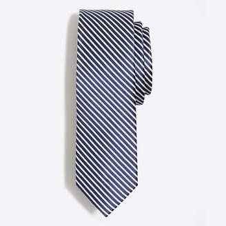 J.Crew Mercantile Silk seersucker tie