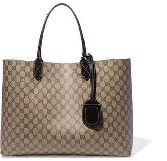 Gucci - Turnaround Medium Reversible Leather Tote - Beige $1,250 thestylecure.com