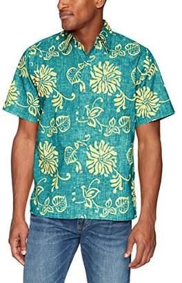 Reyn Spooner Men's Nane'a Spooner Kloth Classic Fit Hawaiian Shirt