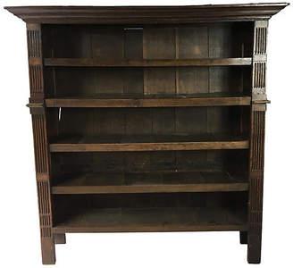 One Kings Lane Vintage 19th-C. English Oak Bookcase - Von Meyer Ltd.