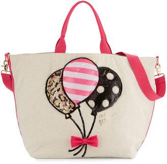 Betsey Johnson Amuse Me Balloon Tote Bag, Multi $70 thestylecure.com