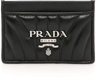 Prada Diagramme Credit Card Holder