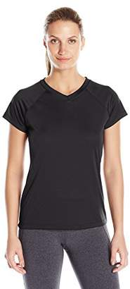 Champion Women's Short Sleeve Double Dry Performance T-Shirt $9.52 thestylecure.com