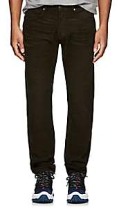 Tom Ford MEN'S CORDUROY STRAIGHT JEANS-OLIVE SIZE 32