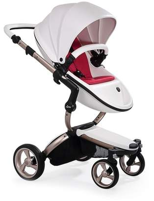 mima Xari Rose Gold Chassis Stroller with Reversible Reclining Seat & Carrycot