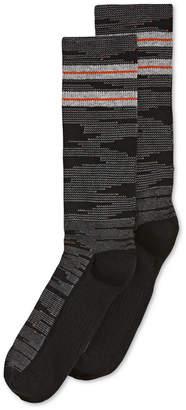 Perry Ellis Men's Casletic Printed Socks