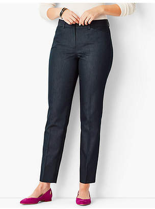 Talbots Hampshire Ankle Pants - Curvy Fit/Polished Denim