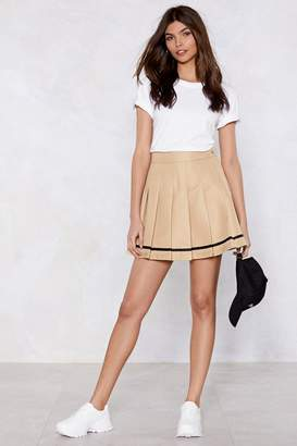 Nasty Gal Eager to Pleat Mini Skirt