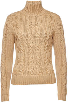 HUGO Salini Virgin Wool Turtleneck Pullover
