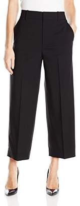 Vince Women's Highwaisted Crop Wide Trouser / V403921284-4-002blk