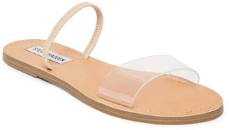 Steve Madden Women's Dasha Lucite Flat Sandals