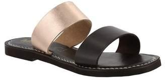 Mia Nila Leather Slide Sandal