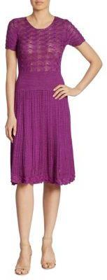 Ralph Lauren Collection Knit Silk Dress
