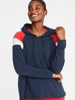 Old Navy Color-Blocked Swing Hoodie for Women
