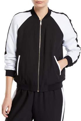 MICHAEL Michael Kors Colorblock Track Jacket