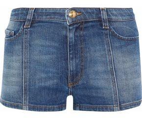 RED Valentino Faded Denim Shorts
