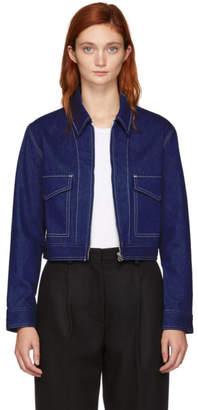 Rag & Bone Blue Denim Ajax Jacket