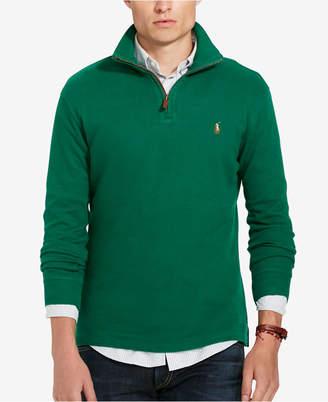 Polo Ralph Lauren Men's Estate Rib Half Zip Sweater $89.50 thestylecure.com