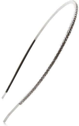 Miu MiuMiu Miu Swarovski Crystal Headband