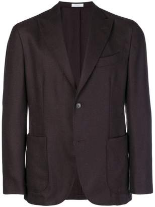 Boglioli woven single breasted blazer