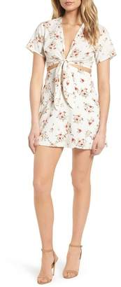 Lush Emily Cutout Minidress