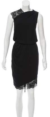 Robert Rodriguez Lace Trim Dress
