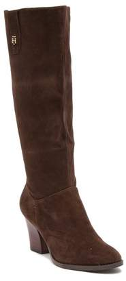 Tommy Hilfiger Rosario Suede High Boot