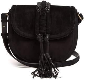 Altuzarra Ghianda braided-leather suede cross-body bag