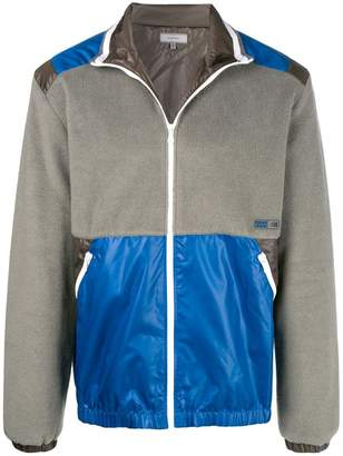 Lanvin panelled fleece jacket