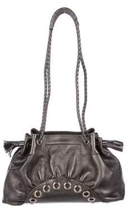 Anya Hindmarch Metallic Leather Shoulder Bag