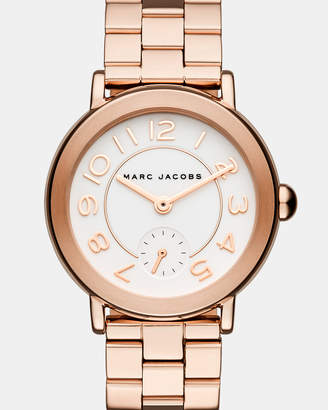 Marc Jacobs Riley Rose Gold-Tone Chronograph Watch