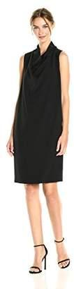 Anne Klein Women's Cowl Neck Sheath Dress