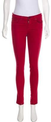 Rag & Bone Skinny Zipper Mid-Rise Jeans