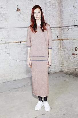 CONTEMPORARY Knitted Pencil Skirt