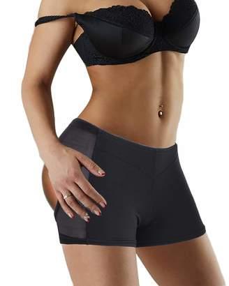 f0e4dfe71ee7a Nebility Women Butt Lifter Shapewear Seamless Body Shaper Panty Breathable Enhancer  Short Briefs (L
