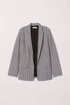 H&M Straight-cut Blazer - Black