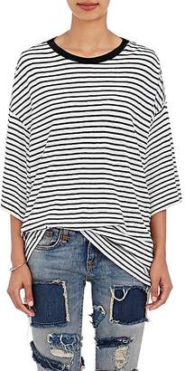 R13 Women's Striped Oversized T-Shirt