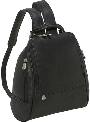 Le Donne Leather Backpack or Purse - U-Zip MidSize