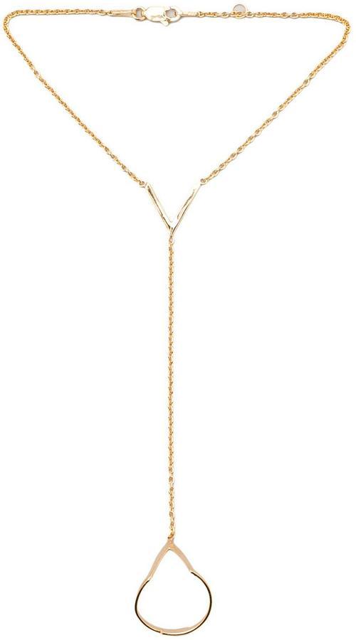 joolz by Martha Calvo V Hand Chain Bracelet